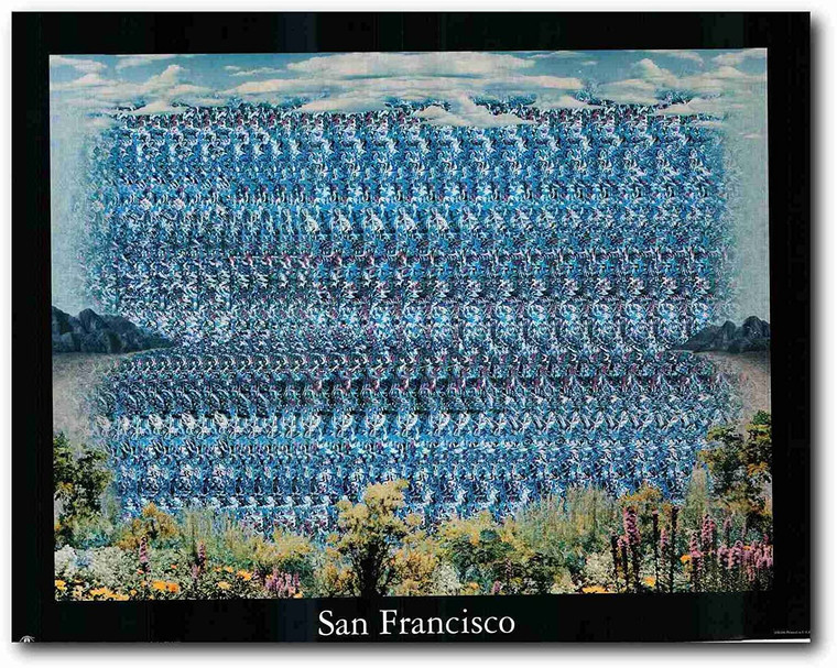 Picture Wall Decoration San Francisco Art Print Poster (22x28)