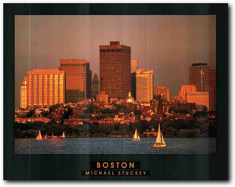 Picture Wall Decoration Boston City in Massachusetts Art Print Poster (22x28)
