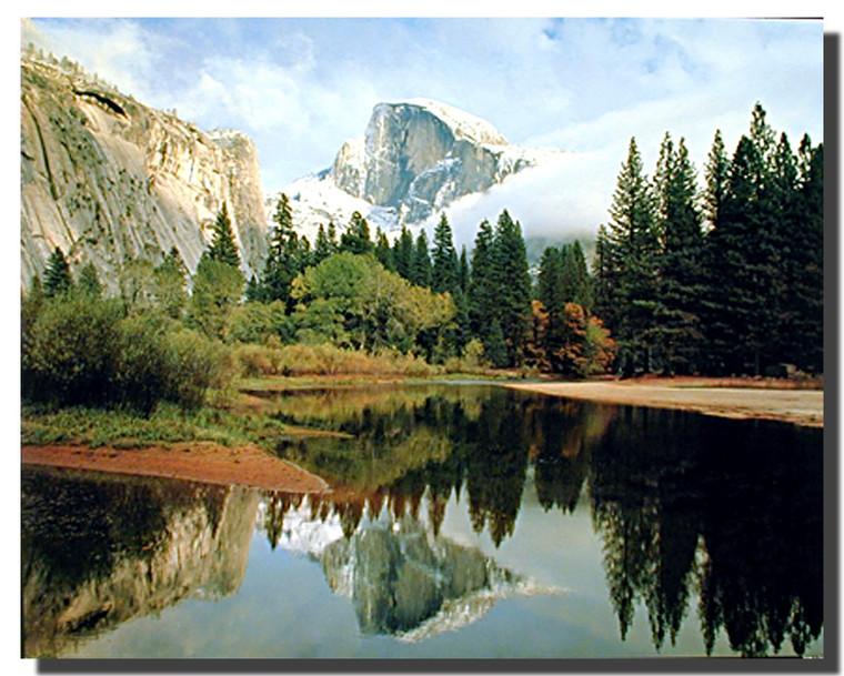 Half Dome Poster Ÿ?? Yosemite Valley