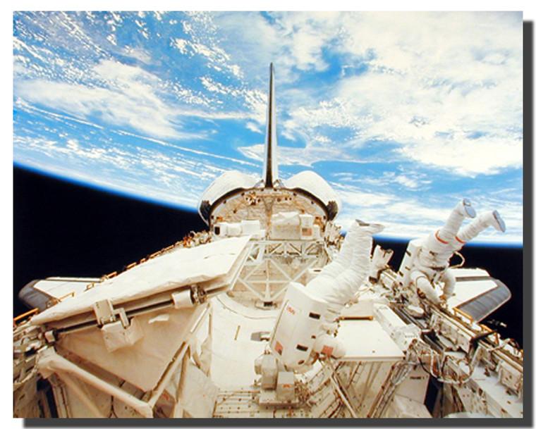 NASA Space Shuttle Poster