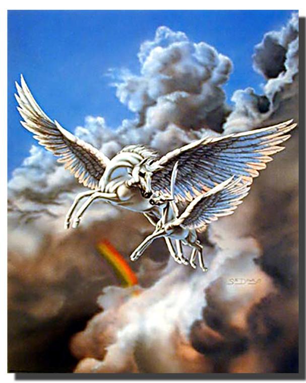 First Flight Pegasus Poster