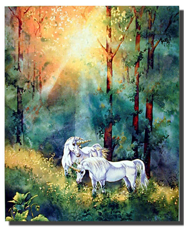 Unicorns Poster- Changing Light