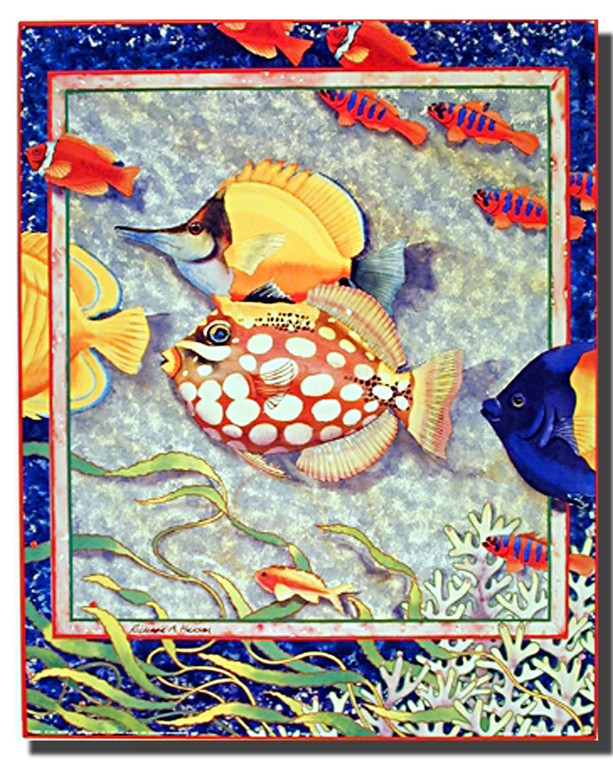 Tropical Fish Poster Print