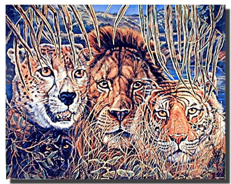 African Wildlife Poster