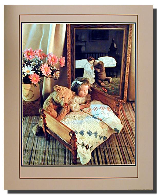 Antique Teddy Prayers Poster