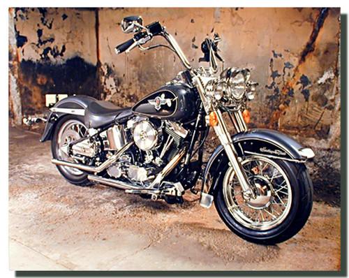 Black Harley Davidson Motorcycle Poster Motorcycle Posters