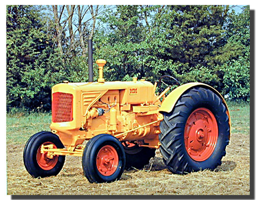 1938 Minneapolis Moline Tractor Poster | Tractor Posters