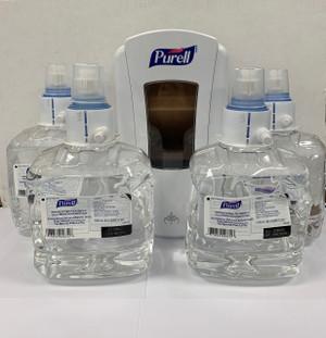 PURELL Advanced Hand Sanitizer & Dispenser COMBO