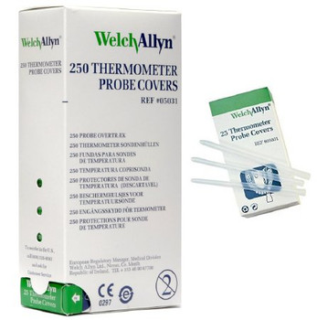 Probe Covers for SureTemp Thermometer by Welch Allyn; 250/box