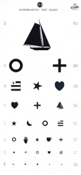 Kindergarten Hanging Eye Chart