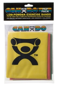 CanDo Exercise Band - Easy Pack