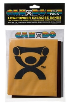 CanDo Exercise Band - Challenging Pack