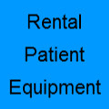 Rental Patient Equipment