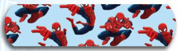 "Spiderman Bandaid 3/4"" 100's"