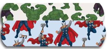 """Hulk & Thor Bandaid 3/4"""" 100's"""