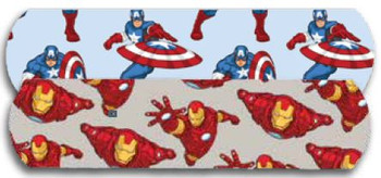"Captain America & Ironman Bandaid 3/4"" 100's"