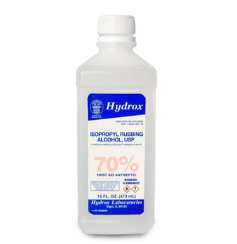 Rubbing Alcohol 70% 16oz
