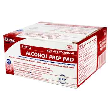 Alcohol Pads - 200's