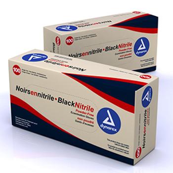 Black Nitrile Exam Gloves - 100's