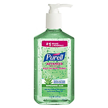 PURELL Advanced Hand Sanitizer Aloe Gel 12oz