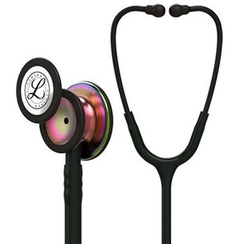 5870 Littmann Classic III - Black w/ Rainbow Finish