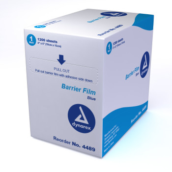 "Dental Barrier Film, 4""x6"""