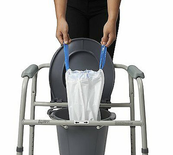 Commode Liner with Absorbent Pad (MDS89664LINEH)