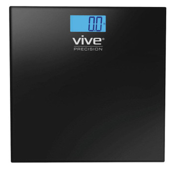 Digital Bathroom Scale, Black (DMD1002SLV)