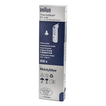 Braun ThermoScan PRO 6000 Ear Thermometer Disposable Probe Covers