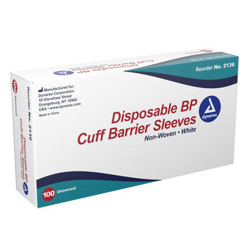 BP Cuff Barrier Sleeve (non-woven) 100/box