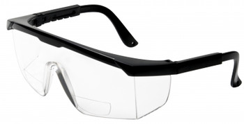 Safety Glasses with Sideshields and Readers (9677R)
