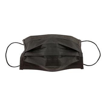 Ear Loop Face Mask, Black, 10/pkg