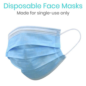 Ear Loop Face Masks - 50 Pack (LVA2045PAK50)