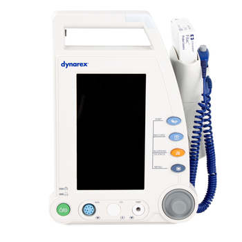 Vital Signs Patient Monitor, w/ Stand, Touch Screen, by Dynarex