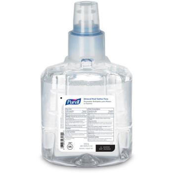 PURELL Advanced Hand Sanitizer Foam, 1200ml, 2 pack #1905-02