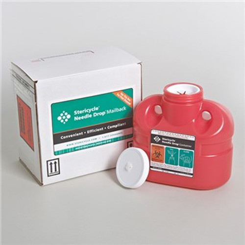 Stericycle 1 Gallon Sharps Disposal Mailback System