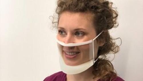 ClearMask Transparent Face Mask (CM001EZ)
