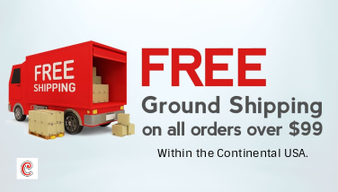 FREE SHIPPING ON ORDERS IN THE USA, OVER $99