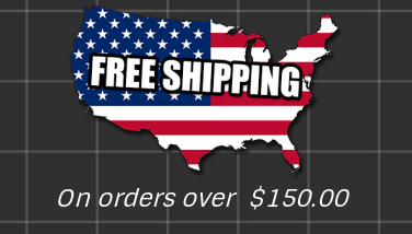 Free Shipping on Orders over $150.00.  -  Thank you for Supporting a Small Business.