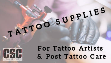 CSC Tattoo Supplies by Cornell Surgical Co.