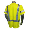 Radians FR Class 3 Hi Vis Green T-Shirt LHV-FR-TS-SSC3 Back