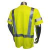 Radians FR Class 3 Hi Vis Green Made in USA T-Shirt LHV-FR-TS-SSC3 Back