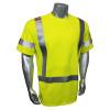 Radians FR Class 3 Hi Vis Green Made in USA T-Shirt LHV-FR-TS-SSC3 Front