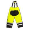 Radians Class E Hi Vis Yellow Black Bottom Rip Stop Bib Rain Pants RW32-EZ1Y Back