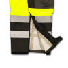 Radians Class E Hi Vis Yellow Black Bottom Rip Stop Bib Rain Pants RW32-EZ1Y Bottom