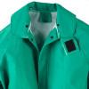 Neese ASTM F903 I96S Green Economy Industrial Chem Splash 3 Piece Rain Suit 10096-55 Collar