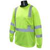 Radians Class 3 Hi Vis Long Sleeve Moisture Wicking T-Shirt ST21-3