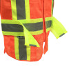 Radians Class 2 Hi Vis Mesh Breakaway Expandable Safety Vest SV24-2ZOM Orange Breakaway