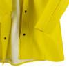 Neese Dura Quilt 56AJ Yellow Industrial Rain Jacket with Hood 56001-00 Snaps