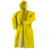 Neese Non-ANSI Hi Vis Yellow Dura Quilt 56AC Full Length Raincoat with Hood 56001-30 Front